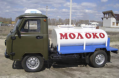 «Milk tanker» with cooling UAZ-36221