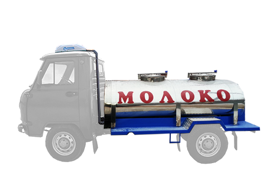 Stainless tank with cooling for UAZ-36221