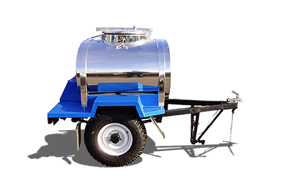 Stainless milk tank trailers PG-8287
